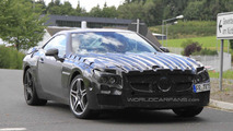 2012 Mercedes Benz SL 63 AMG spy photo