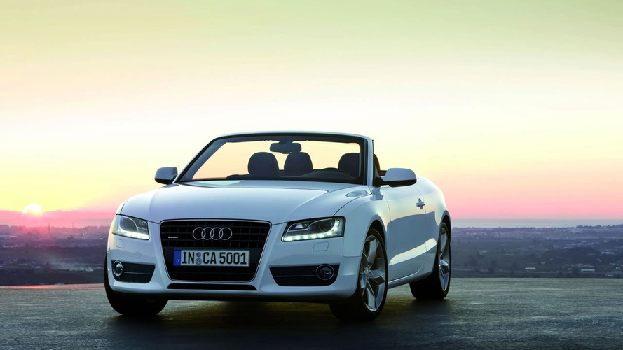 Audi A5 Cabrio Driving Footage