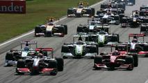 Monza, Italy, Start of the race - Formula 1 World Championship, Rd 13, Italian Grand Prix