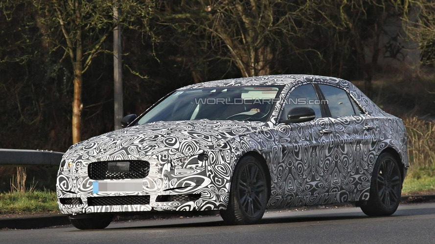 Jaguar XS shows production body in latest spy photos