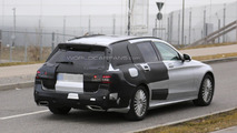 2015 Mercedes-Benz C-Class Estate spy photo