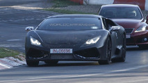 Lamborghini Cabrera testing on Nurburgring spy photo