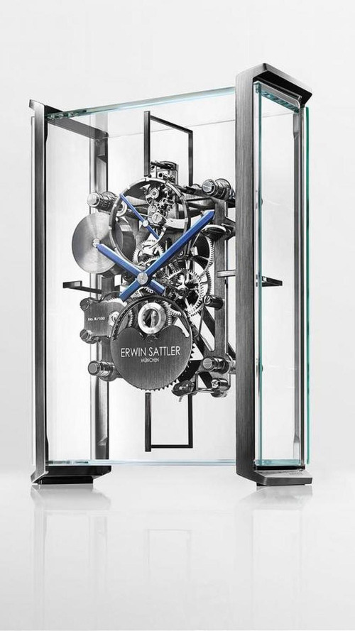 Audi's new table clock by Erwin Sattler looks amazing