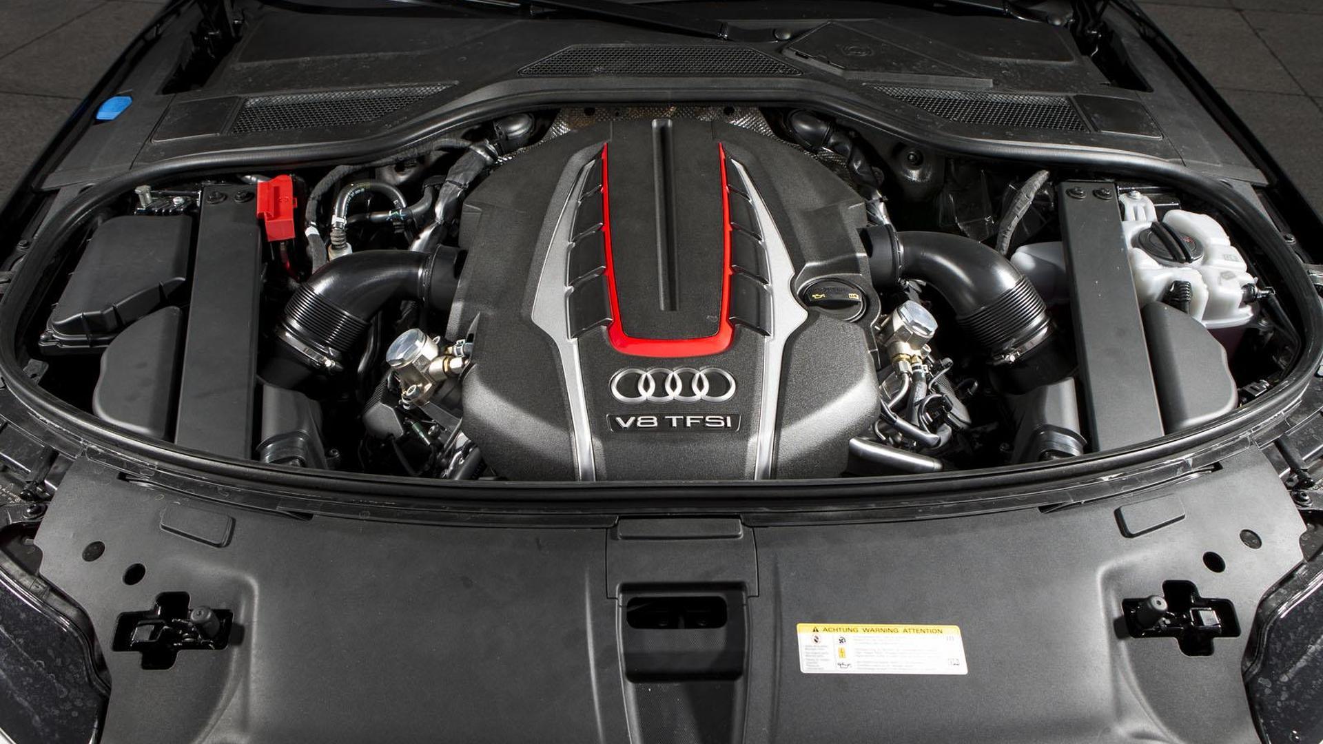 Двигатель V8 TFSI под капотом Audi S8 от ABT Sportsline