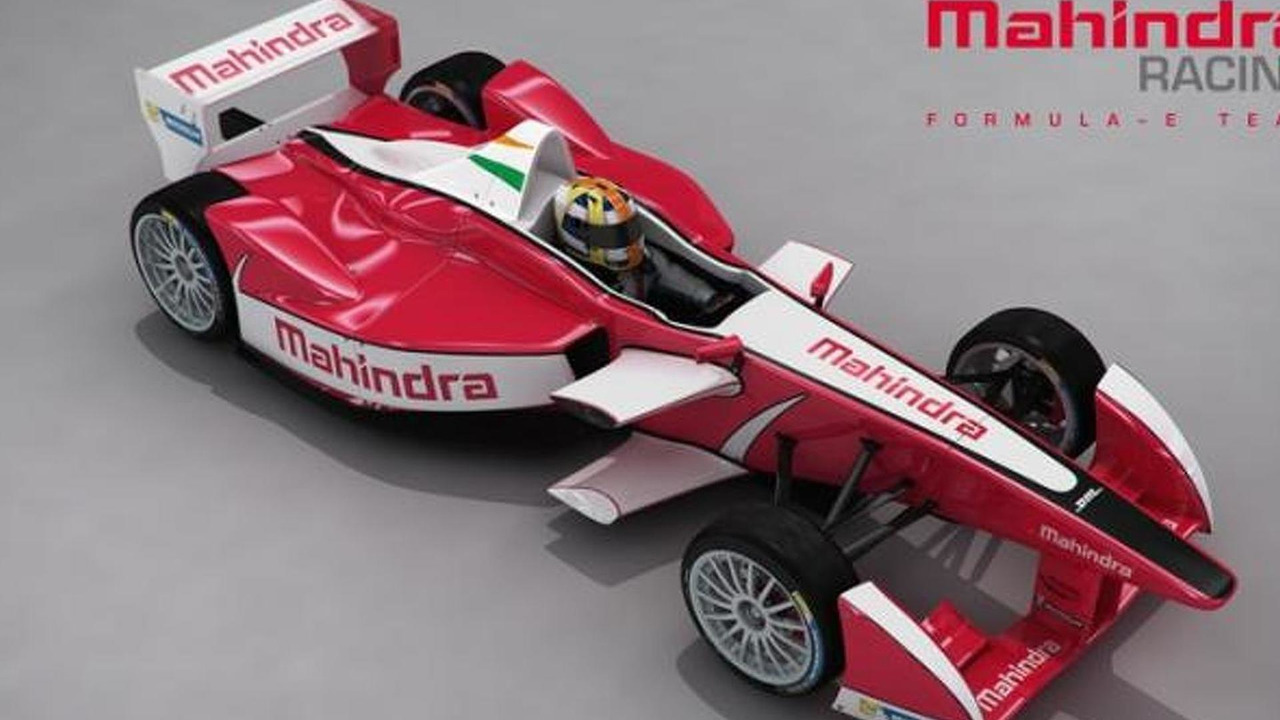 Mahindra Racing Formula E Team car livery