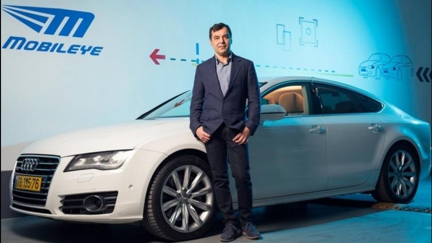 Intel e guida autonoma, 15,3 mld di dollari per Mobileye