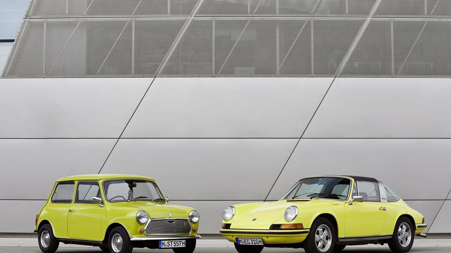 Classic MINI says happy 50th birthday to the Porsche 911