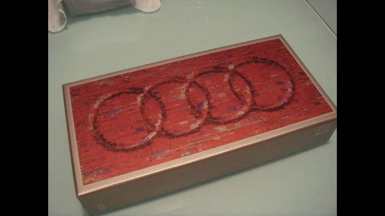 Audi trasforma le sue auto in dolci