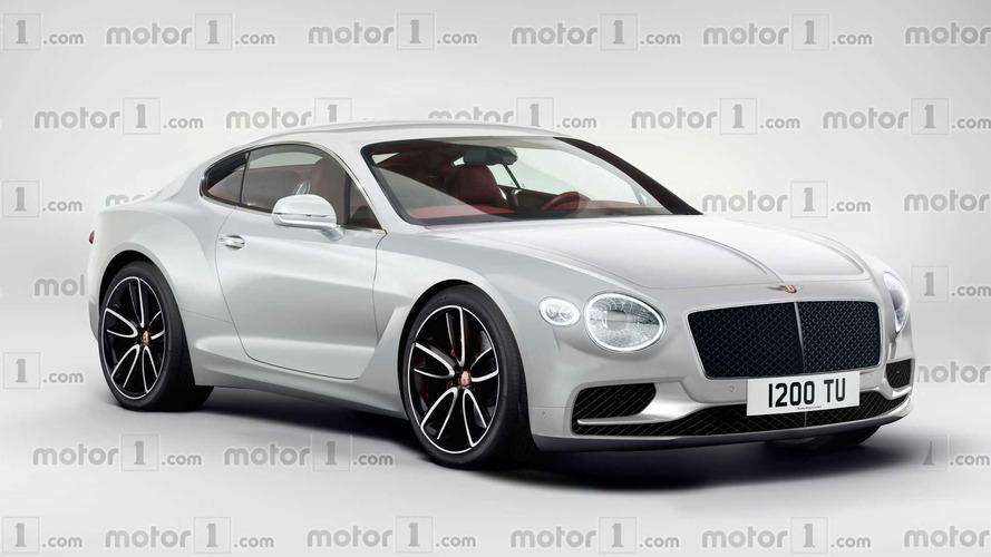 2018 Bentley Continental GT böyle mi görünecek?