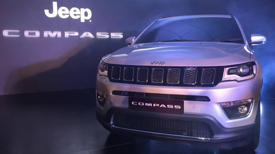 Jeep Compass supera 4 mil unidades reservadas na Índia