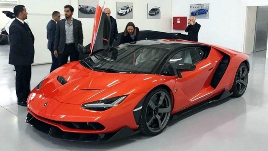 La première Lamborghini Centenario a été livrée !