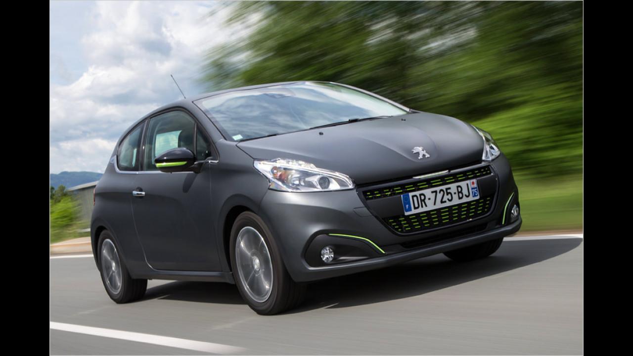 Für nicht so begüterte Kurvenräuber: Peugeot 208