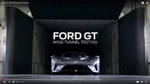Ford GT túnel de vento