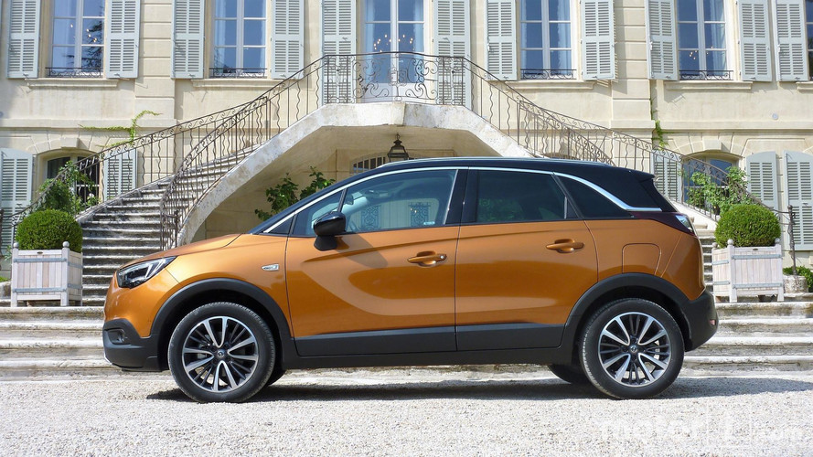 essai opel crossland x 2017 le crossover challenger. Black Bedroom Furniture Sets. Home Design Ideas