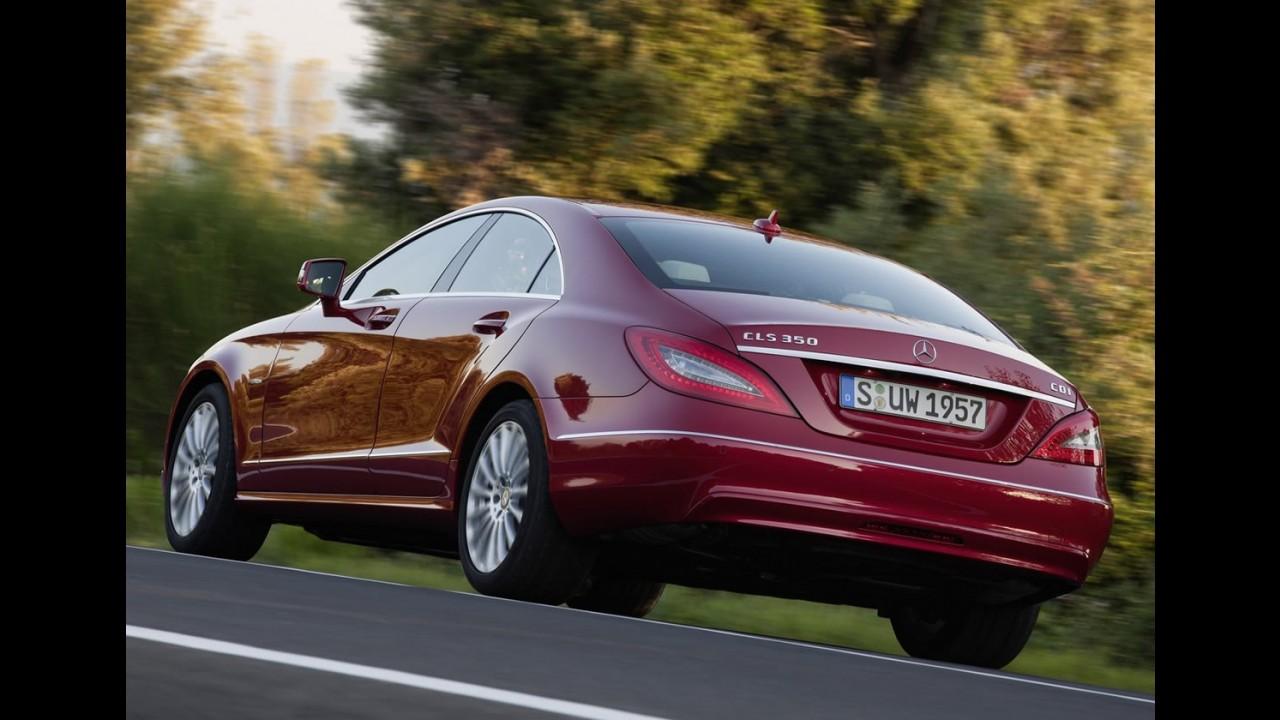 Mercedes-Benz CLS 2012 já está à venda no Brasil custando a partir de R$ 320,5 mil