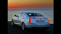 Cadillac divulga primeiras imagens oficiais do sedã ATS em versão para Europa