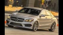 Bombando: estoques do Mercedes CLA atendem apenas metade dos pedidos