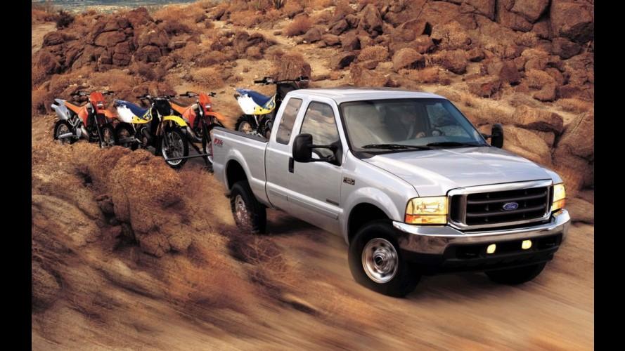 Ford convoca mais de 1 milhão de picapes por risco de incêndio nos EUA