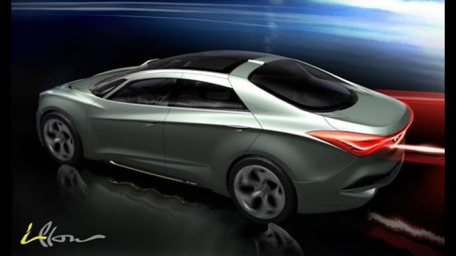 Hyundai i-Flow Concept: Protótipo adianta futuro de sedan Sonata (i40) híbrido