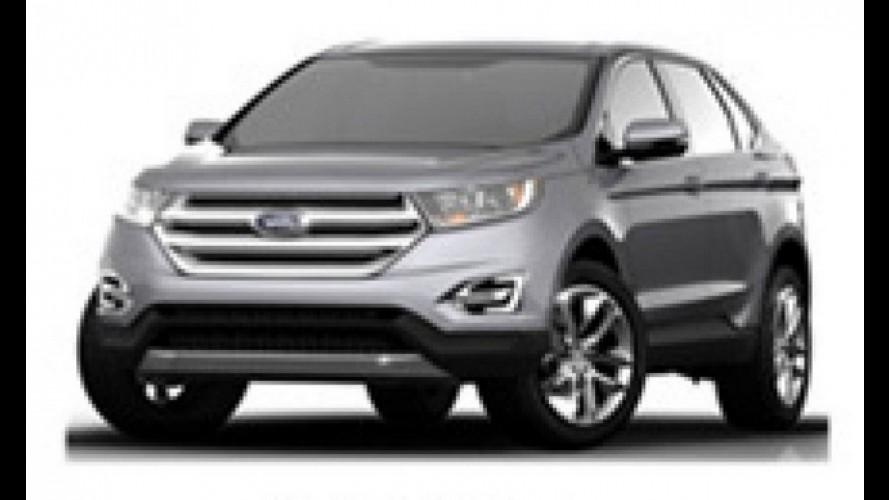 Nova geração do Ford Edge será mostrada no Salão de Los Angeles