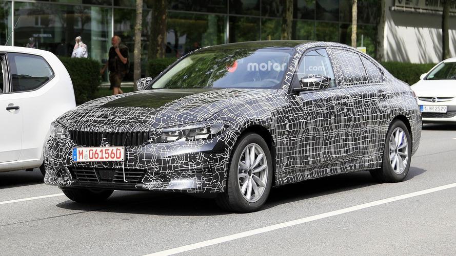 Yeni BMW 3 Serisi daha az kamuflajla görüntülendi