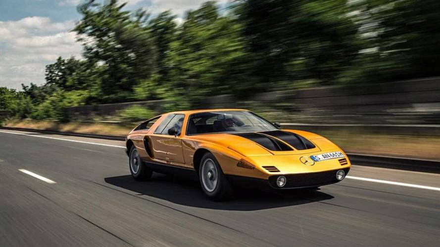 On The Road In The Mercedes C111 II