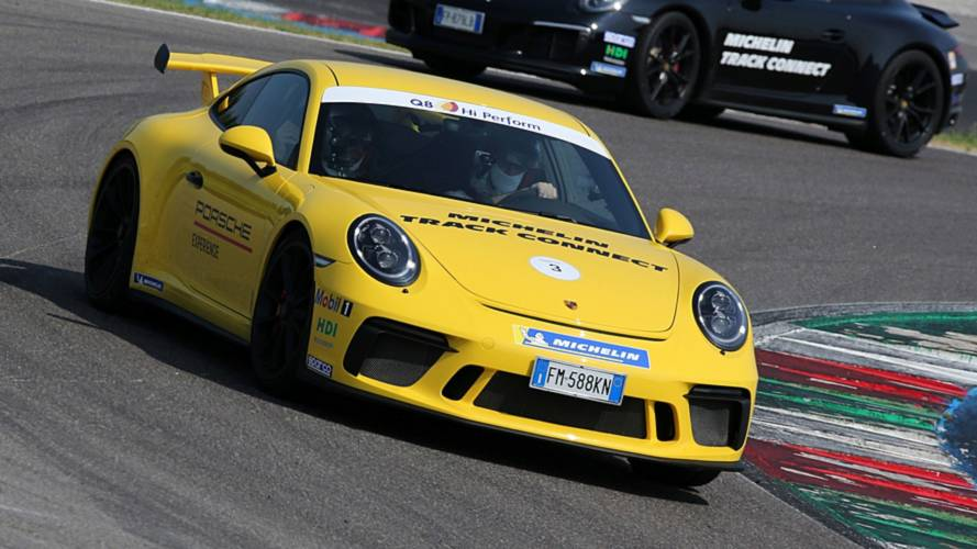 Michelin Track Connect, in pista con Porsche 911 GTS e GT3