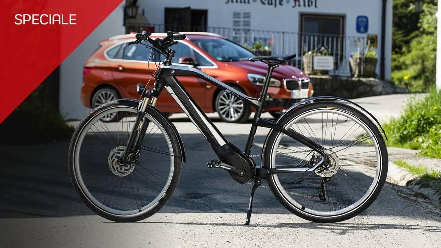 BMW Active Hybrid E-Bike, tutta sua la città