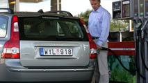 V50 FlexiFuel, fill up with E85