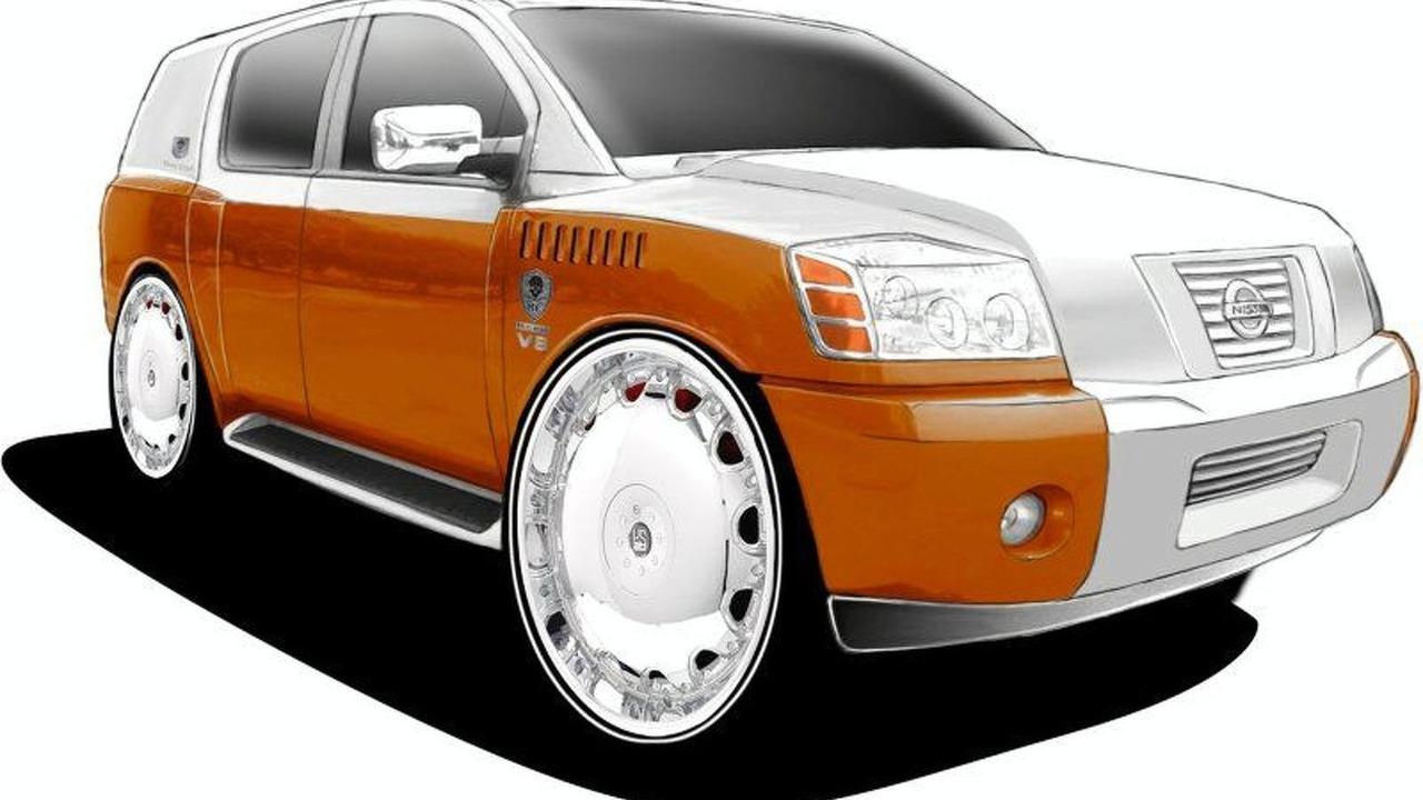 Marc Ecko design for Nissan Armada