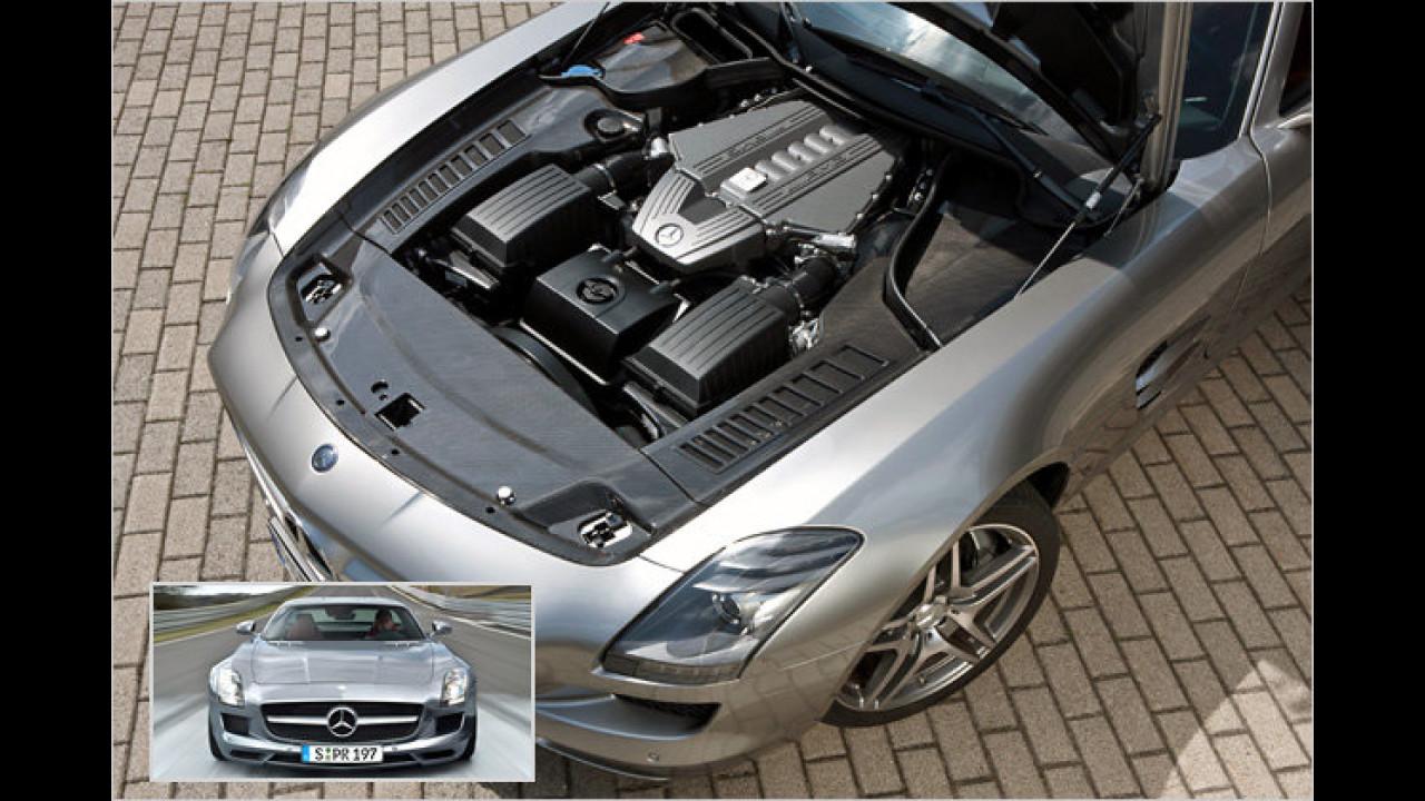 Motorraumabdeckung aus Karbon: 4.760 Euro