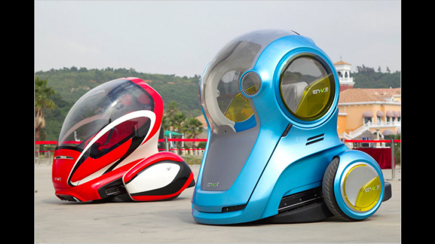 Stadtauto der Zukunft? Chevrolet EN-V Concept