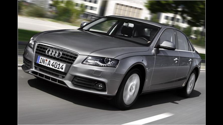 Mit Feinschliff ans Sparziel: Audi stellt A4 TDI concept e vor