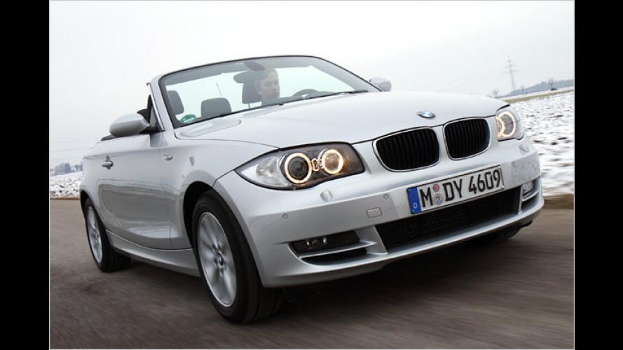 Kompakter Open-Air-Cruiser: BMW 118d Cabrio im Test