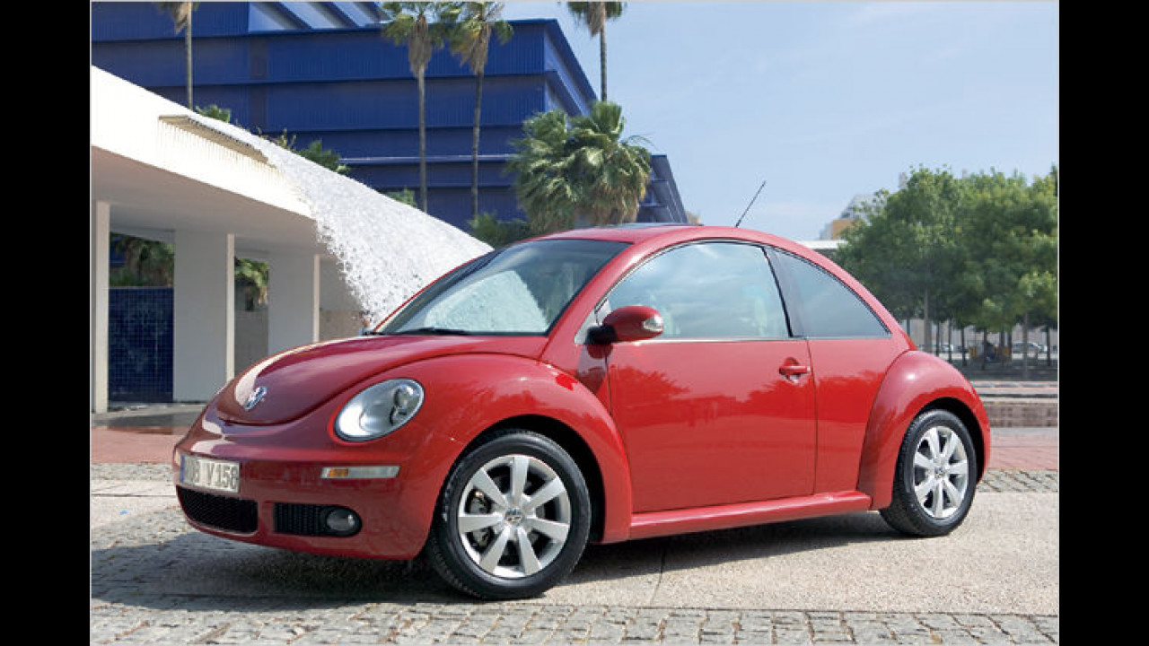 Frauenauto: VW New Beetle