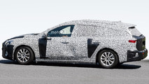 2018 Ford Focus wagon spy photo