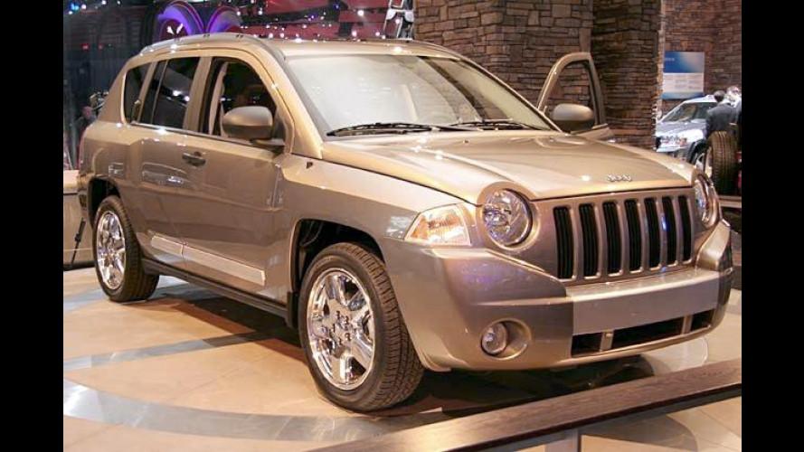 Jeep Compass: Kompakter SUV soll im Herbst starten