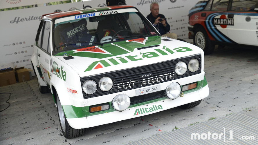 Fiat Abarth 131 rallie en Goodwood