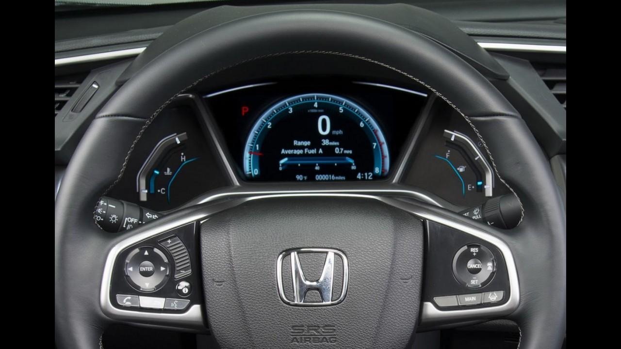 Novo Honda Civic 2016 é apresentado com visual arrojado e motor 1.5 turbo - veja fotos