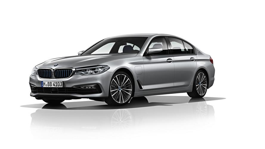 45 km elektrik menzilli 2017 BMW 530e'nin detayları