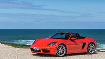 Porsche 718 Boxster S rojo