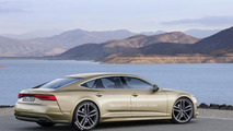 Second generation Audi A7 Sportback rendered with Prologue concept influences