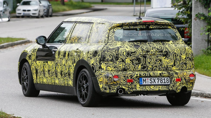 All-new MINI Clubman spied undergoing testing ahead of 2015 launch
