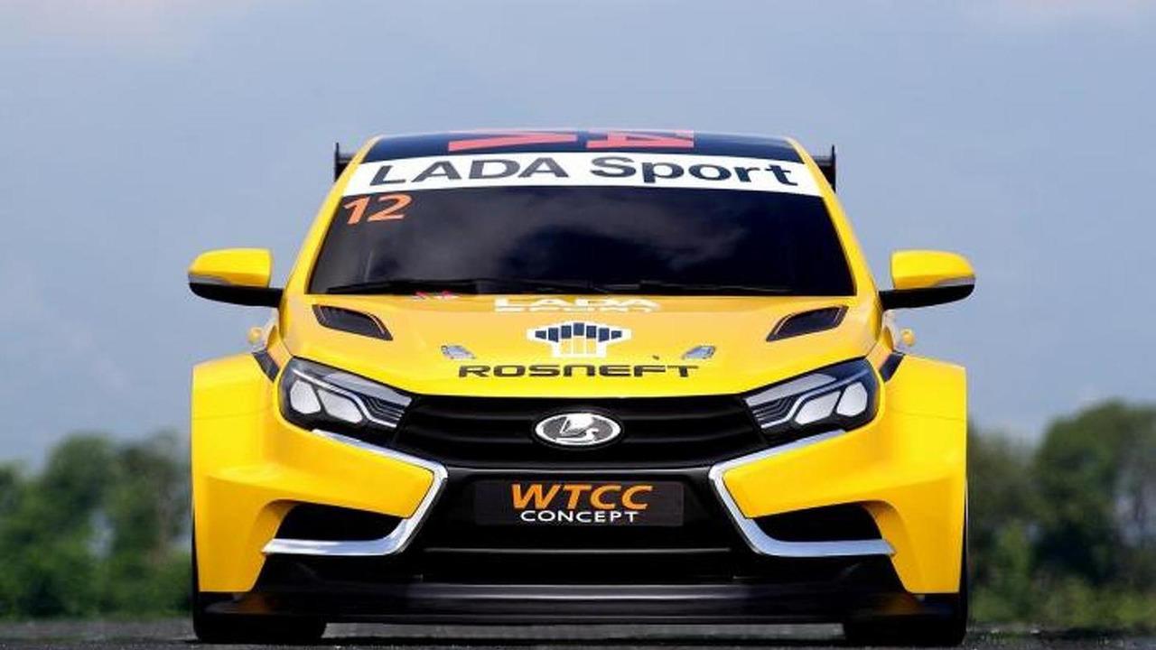 Lada Vesta WTCC Concept leaked photo