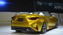 Lexus LF-C2 concept live in Los Angeles