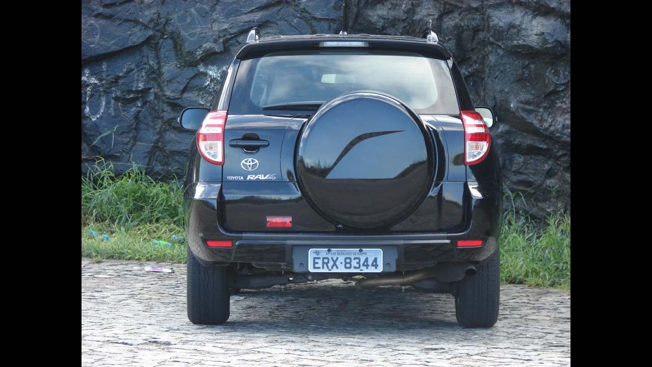 Avaliação - Toyota RAV4 4x2 2.4 VVTi 2011