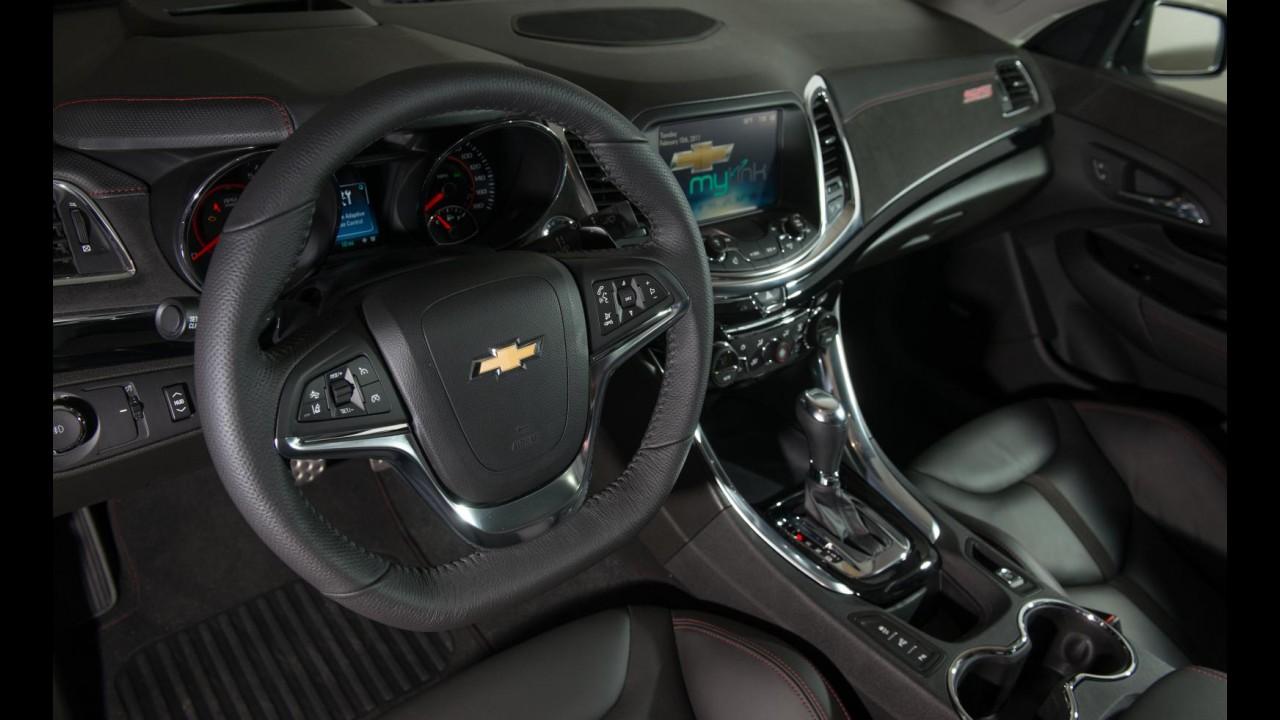 Oficial: Chevrolet revela novo sedã esportivo SS - Veja galeria de fotos