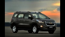 Chevrolet Spin é lançada na Argentina - Importado do Brasil, tem preço inicial equivalente a R$ 39.142,00