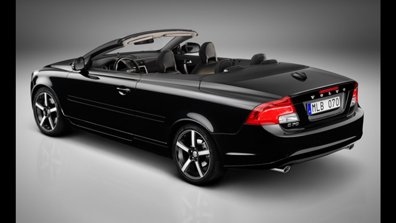 Volvo revela a edição limitada C70 Inscription