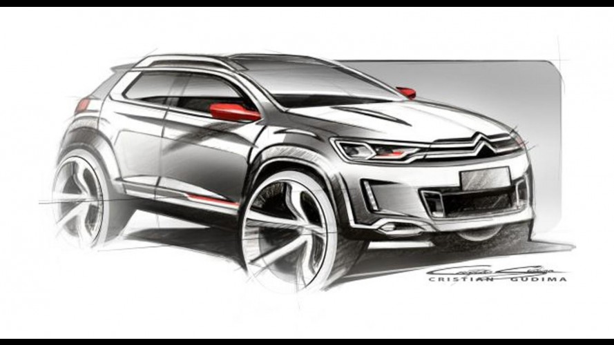 Citroën mostrará crossover irmão do Peugeot 2008 no Salão de Pequim